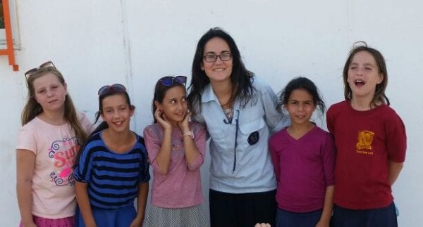 Bnei Akiva Counselor and Youth Group in Nokdim El-David