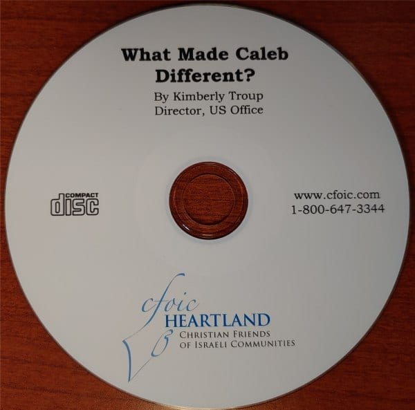 What Made Caleb Different ? audio CD by Kimberly Troup