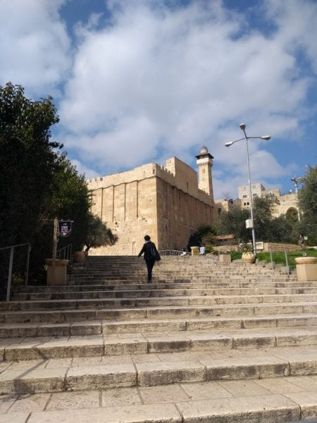 The Cave of Machpelah in Hebron commemorates the burial place of Abraham, Isaac, Jacob and their wives