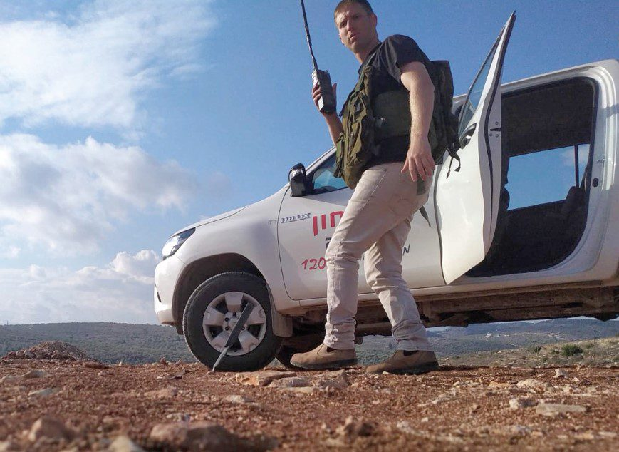 Due to the mountainous terrain in Samaria specialized digital radios are vital to saving lives during an emergency